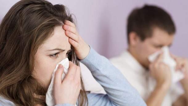 Грип чи застуда: симптоми