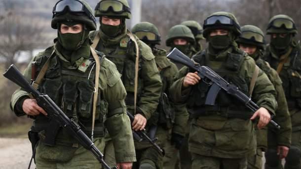 В оккупированном Крыму проходят масштабные военные учения
