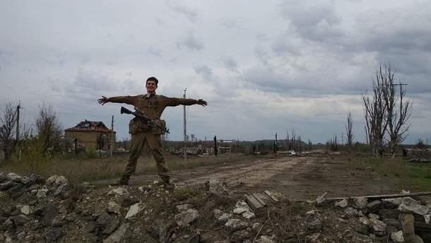 Максим Громов на Донбасі