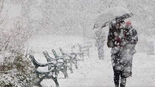 В Украину идет непогода