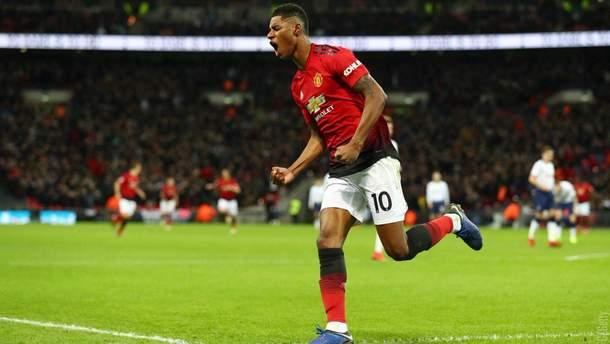 Тоттенхэм – Манчестер Юнайтед: видео голов