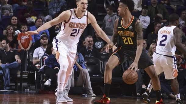 Лень та Михайлюк зіграли чергові матчі в НБА