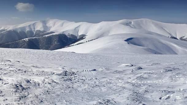 Поиски заблудившегося лыжника в Карпатах
