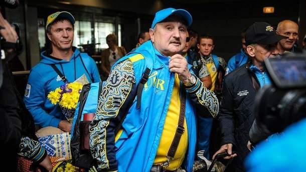 Сосновский покинул сборную Украины