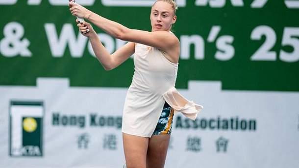 Дарья Лопатецкая вышла в четвертьфинал турнира ITF