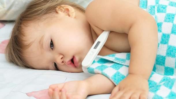 Яка температура у дитини вважається нормальною