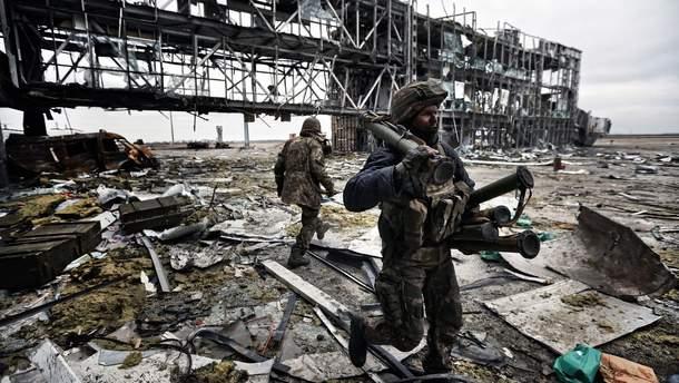 Бои за Донецкий аэропорт: видео боя за Донецкий аэропорт в 2014-2015