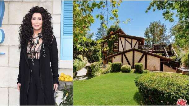 Певица Шер продает свой особняк в Беверли-Хиллз