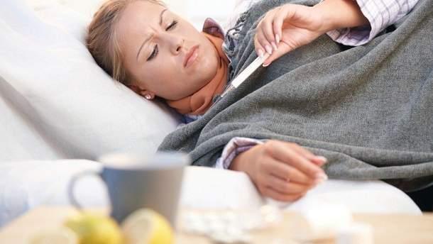 На Прикарпатті упродовж тижня понад 10 тисяч людей захворіли на грип і ГРВІ