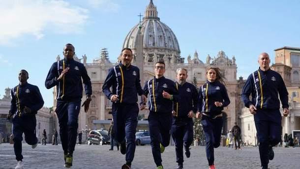 Сборная Ватикана по легкой атлетике