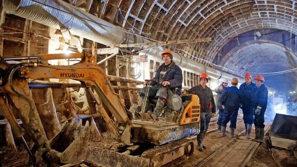 Будівництво метро у Харкові
