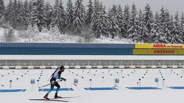 Українські біатлоністи провалили спринт на етапі Кубка світу в Оберхофі