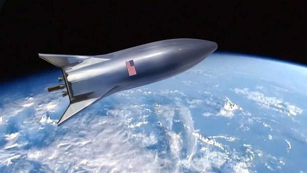 SpaceX Starship: фото та відео