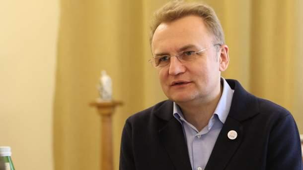 Садовый предполагает объединение с Вакарчуком и Гриценко на парламентских выборах