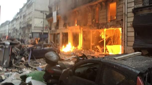 Взрыв в Париже сегодня 12 января 2019 - пострадали 20 человек