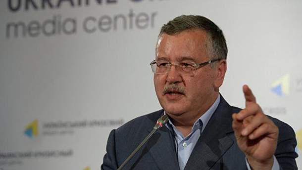 Гриценко назвав умови, за яких може об'єднатися з іншими політиками на виборах