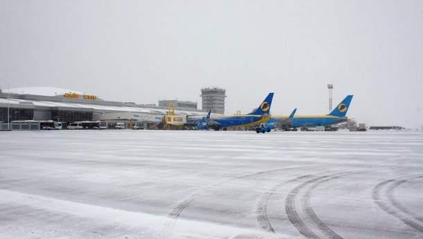 """У """"Борисполі"""" вимушено сів літак"""