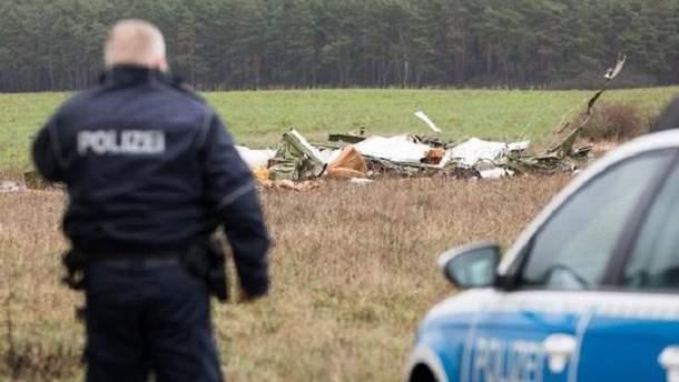 Авиакатастрофа в Германии