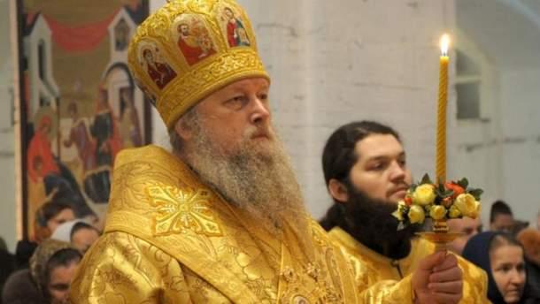 Єпископа Нафанаїла з УПЦ МП не пустили до храму