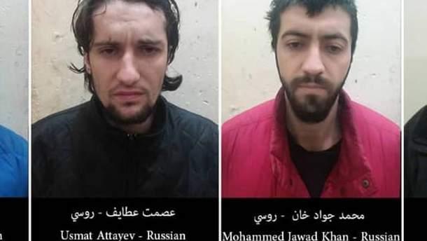 """Затримані в Сирії російські бойовики """"Ісламської держави"""""""