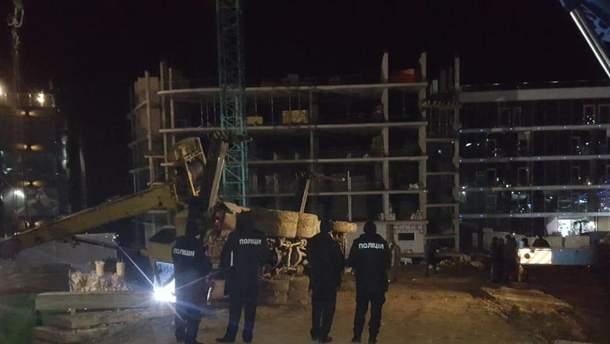 В Одессе на строительной площадке погиб рабочий