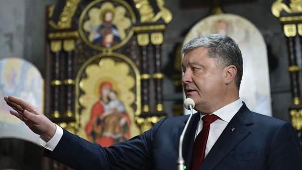 Порошенко рассказал о своем отношении к прихожанам УПЦ МП