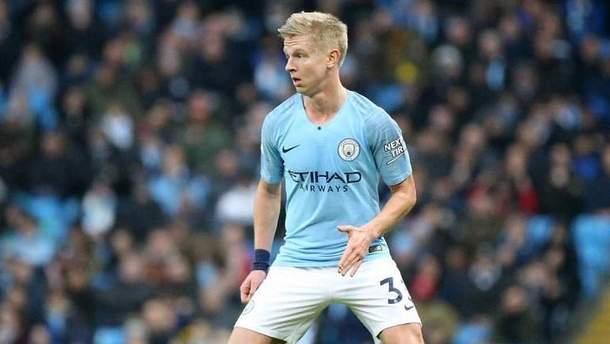 Зинченко хочет остаться в Манчестер Сити