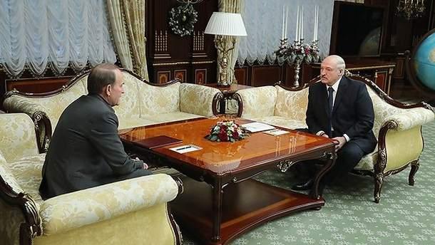 Лукашенко и Медведчук поговорили о войне в Украине