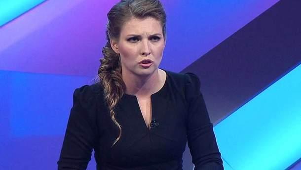 Российская журналистка-пропагандистка Ольга Скабеева