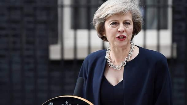 Премьер-министр Британии Тереза Мэй