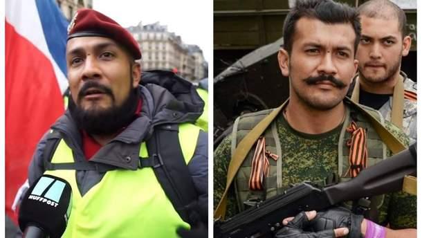 """В протестах """"желтых жилетов"""" в Париже участвует француз, воевавший за боевиков на Донбассе"""