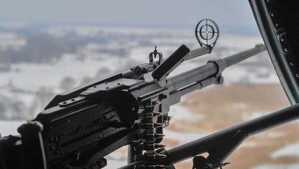 Вследствии обстрелов боевиков погиб украинский военный