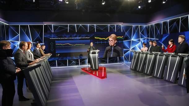 """Юлия Тимошенко в эфире ток-шоу """"Свобода слова"""""""