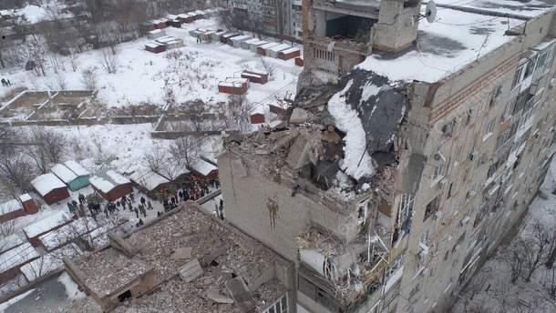 Смертельний обвал у місті Шахти (Ростовська область, РФ)
