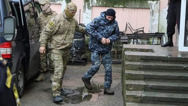 Продовження арешту українським морякам оскаржать у Європейському суді з прав людини