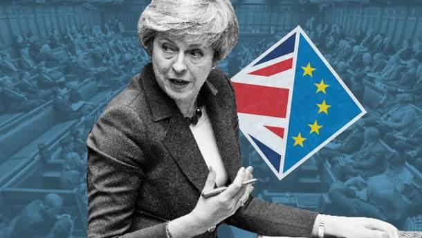 Парламент Британії не підтримав угоду Терези Мей про вихід з ЄС