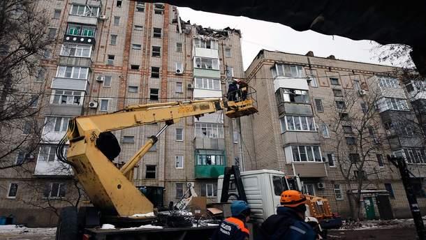 Обвал дома в Ростовской области