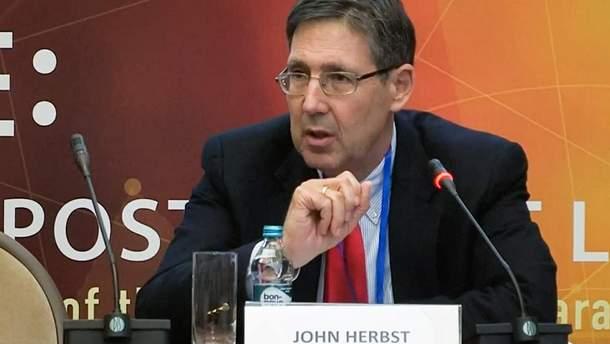 Бывший посол США в Украине Джон Хербст