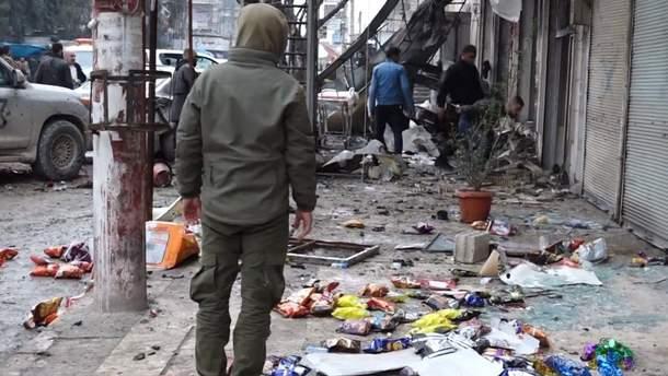 У Сирії терорист-смертник підірвав себе