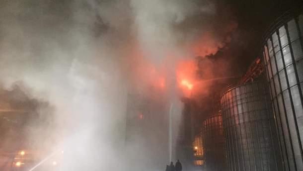"""Под Львовом произошел пожар на масличном заводе """"Майола"""""""