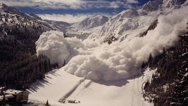 Кількість загиблих внаслідок лавини в Австрії зросла