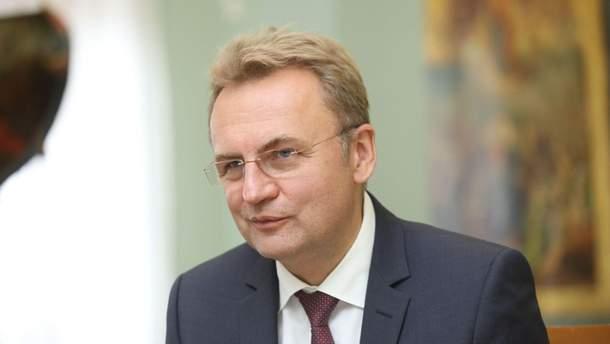 """Лидер фракции """"Самопомич"""" и кандидат в президенты Андрей Садовый"""