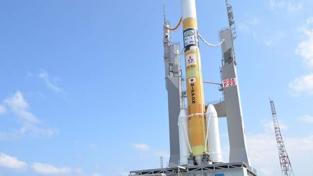 Японія запустила ракету Epsilon з кількома легкими супутниками