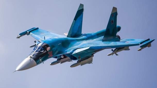 У Росії зіткнулися два винищувачі Су-34