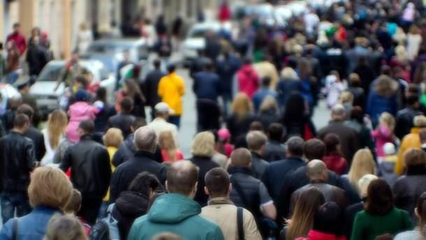 Населення України за рік скоротилося на 200 тисяч осіб