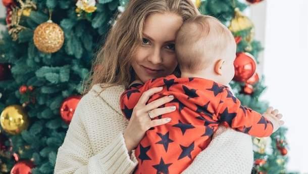 Елена Шоптенко с сыном