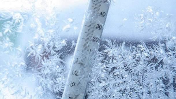 В Україну повертаються сильні морози