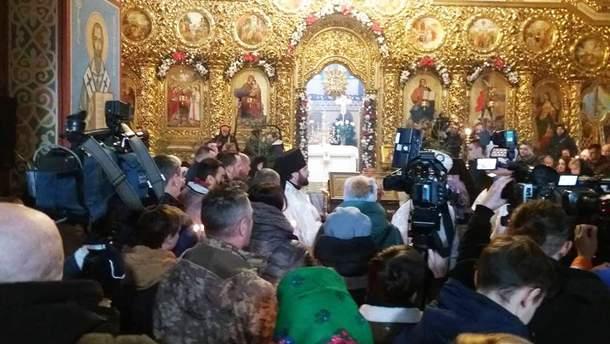 Панахида за загиблими захисниками Донецького аеропорту