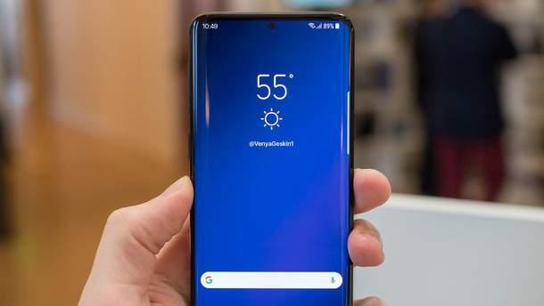 Вероятный дизайн Samsung Galaxy S10