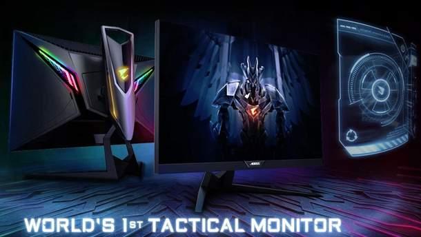 Gigabyte представила перший в світі тактичний ігровий монітор: фото, характеристики